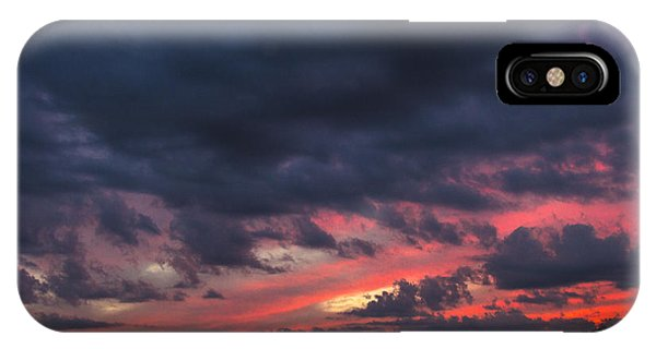 Angry Sunset IPhone Case