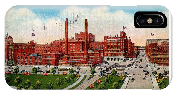 Anheuser Busch Plant 1943 IPhone Case