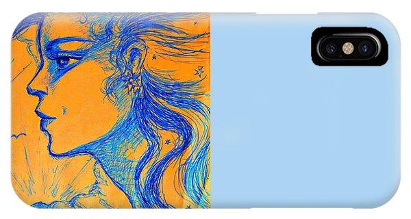 Anima Sunset IPhone Case