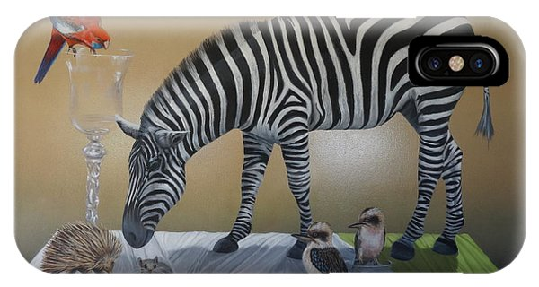Animal Curiosity Phone Case by Clive Holden