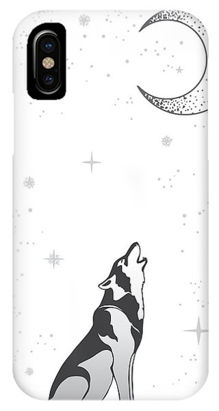 Sketch Book iPhone Case - Animal Print For Adult Anti Stress by Anastasia Mazeina