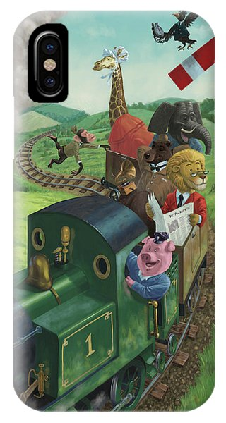 Animal Train Journey IPhone Case