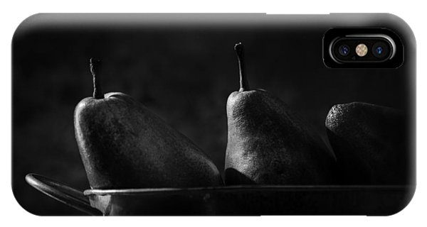 Pears iPhone Case - Anjou Pears by Jesse Castellano