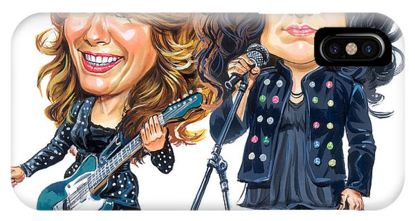Superior iPhone Case - Ann And Nancy Wilson Of Heart by Art