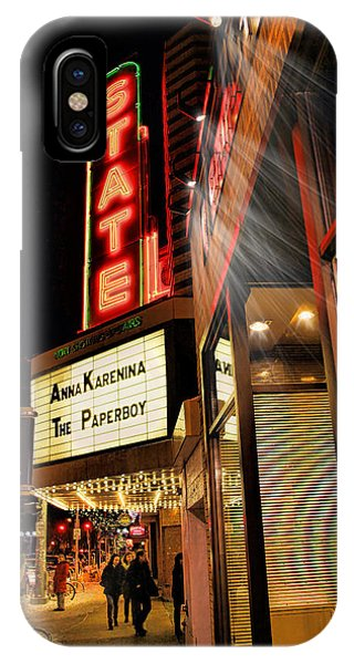 State Theater Marquee IPhone Case