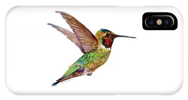 Anna Hummingbird IPhone Case