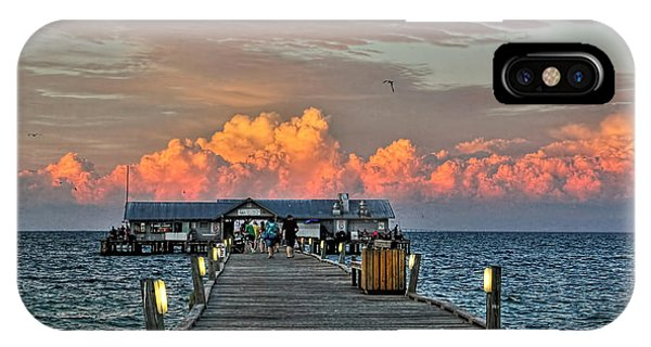 Anna Maria City Pier IPhone Case