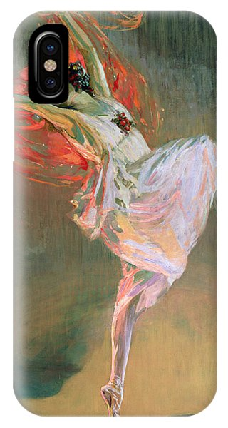 Dance iPhone Case - Anna Pavlova, 1910 by Sir John Lavery