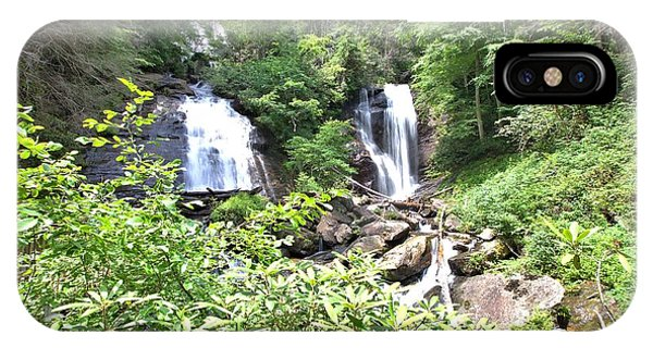 Anna Ruby Falls - Georgia - 1 IPhone Case