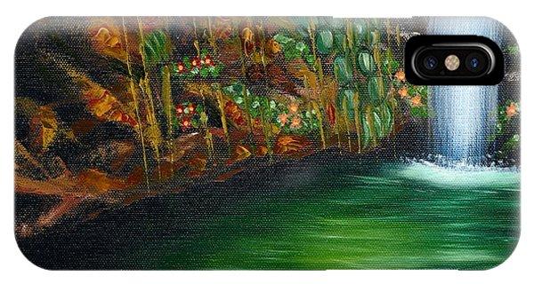 Annadale Waterfall IPhone Case