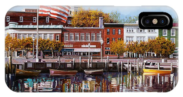 Naval Academy iPhone Case - Annapolis by Guido Borelli