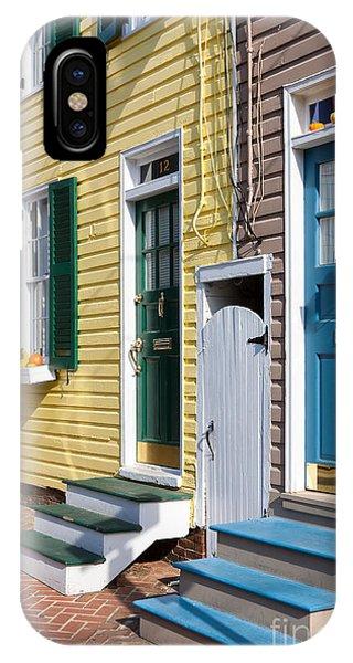 Annapolis Historic Homes I IPhone Case