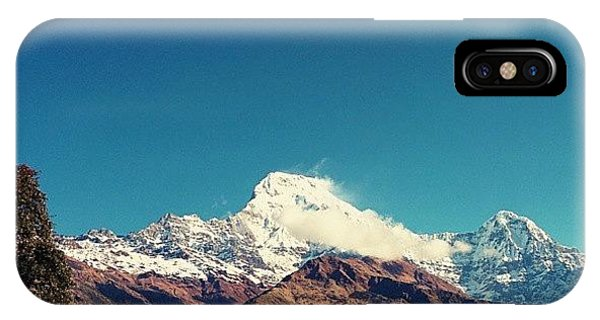 Beautiful Sunrise iPhone Case - #annapurna by Raimond Klavins