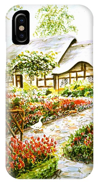 Anne Hathaway's Cottage At Stratford Upon Avon IPhone Case