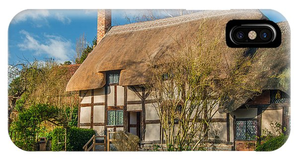 Anne Hathaways Cottage Phone Case by David Ross