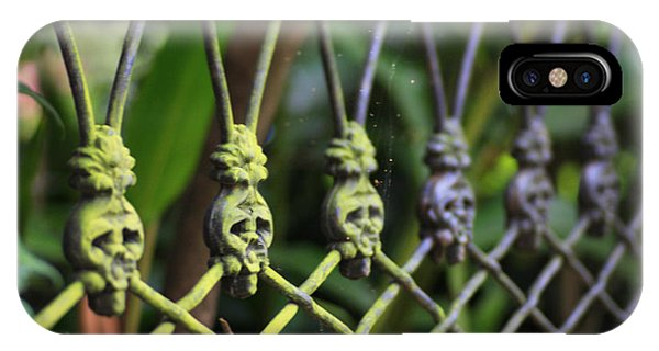 Anne Rice Fence IPhone Case
