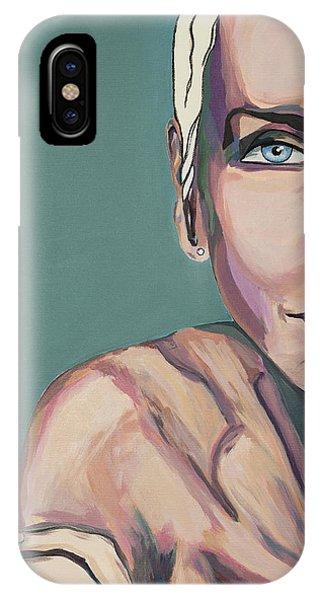 Annie Lennox Talk To Me IPhone Case