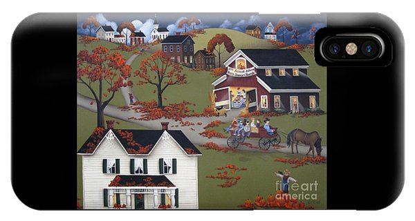 Annual Barn Dance And Hayride IPhone Case