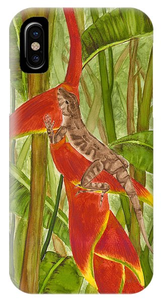 Anolis Humilis IPhone Case
