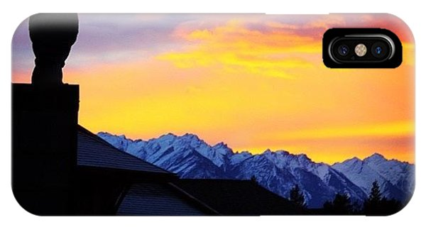 Another Awesome Bc Sunrise! #bc #canada IPhone Case