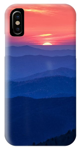 Another Day Ends IPhone Case