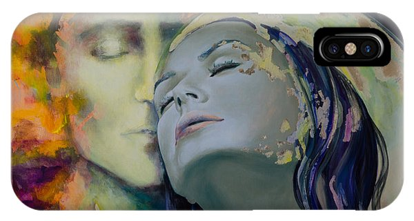 Kiss iPhone Case - Another Kind Of Rhapsody by Dorina  Costras