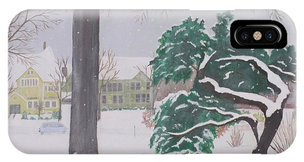 Another Snow Fall IPhone Case