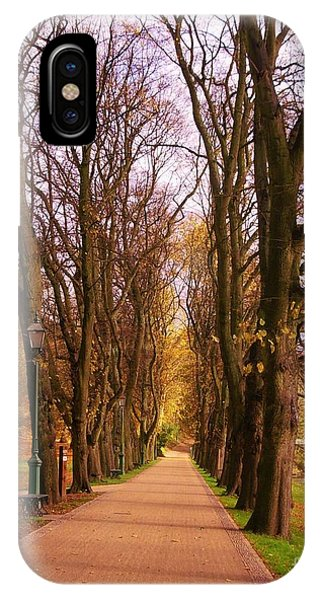 Another View Of The Avenue Of Limes IPhone Case