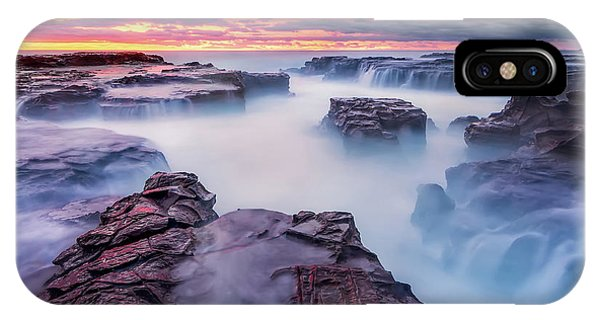 Rock Formation iPhone Case - Another World by Joshua Zhang
