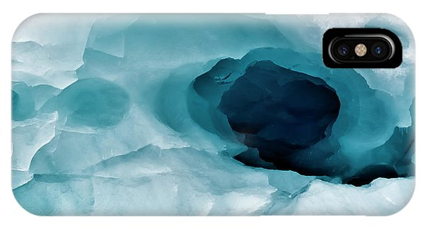 Antarctica Close-up Of An Artistic Phone Case by Janet Muir