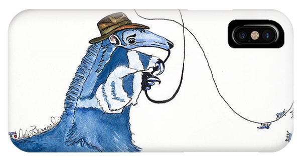 Antdiana Anteater Phone Case by Dale Bernard