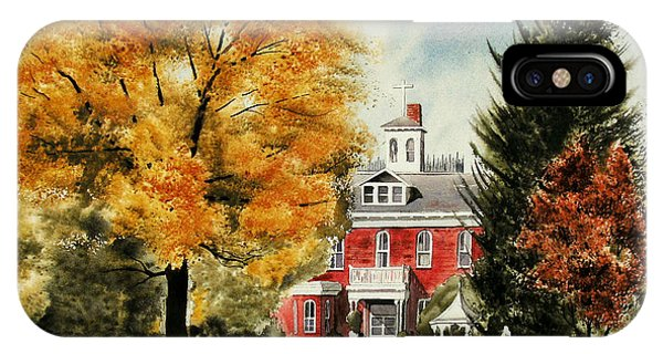 Antebellum Autumn II IPhone Case