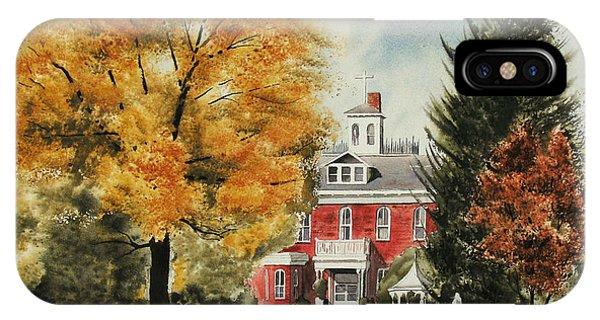 Antebellum Autumn Ironton Missouri IPhone Case