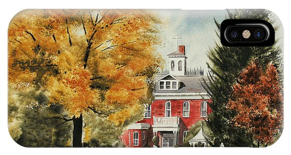 Antebellum Autumn Ironton Missouri IPhone Case