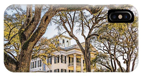 Antebellum Mansion IPhone Case