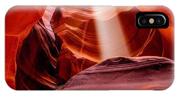 Craig iPhone Case - Antelope Canyon Beam by Az Jackson