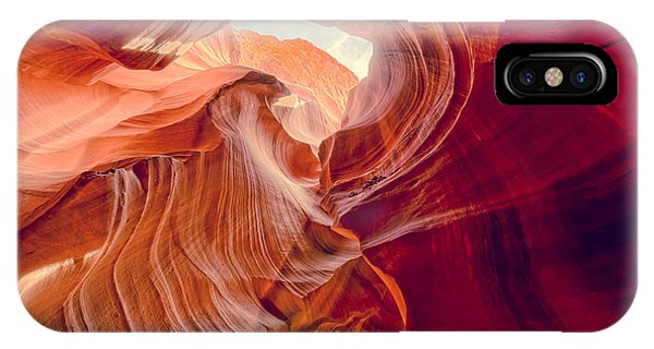 Antelope Canyon Navajo Nation Page Arizona Weeping Warrior IPhone Case