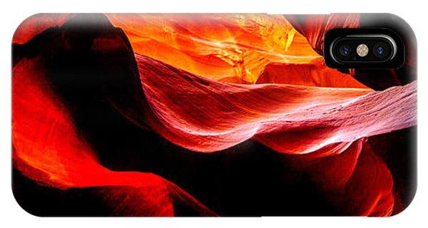 Famous Artist iPhone Case - Antelope Canyon Rock Wave by Az Jackson