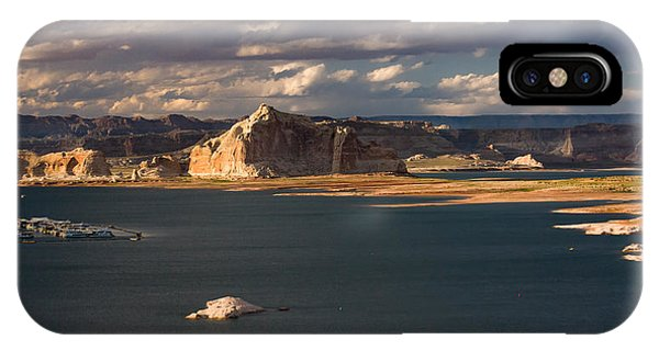 Antelope Island At Sunset IPhone Case