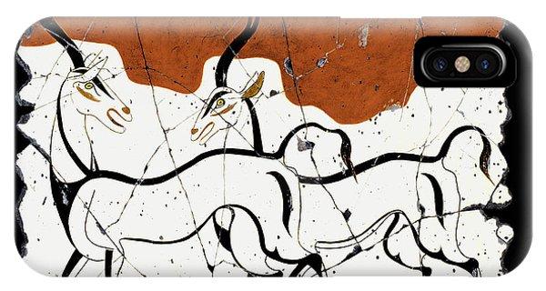 Antelope Of Akrotiri IPhone Case