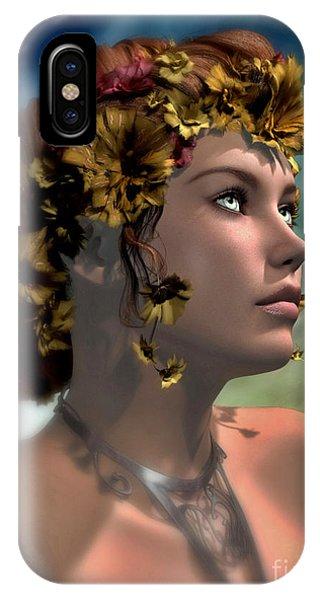 Antheia Phone Case by Sandra Bauser Digital Art