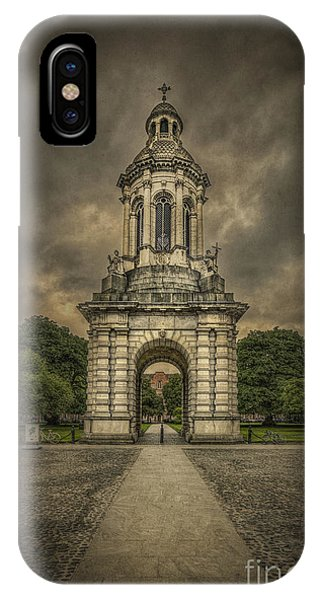 Bell iPhone Case - Anthem Of The Trinity by Evelina Kremsdorf