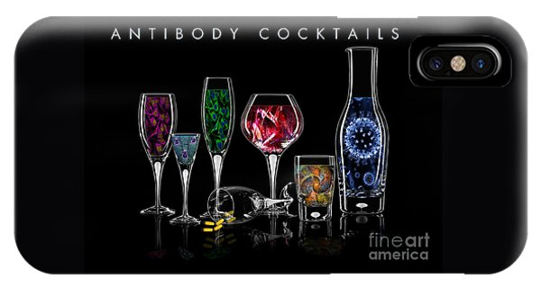 Antibody Cocktails IPhone Case
