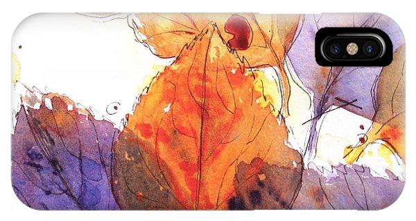Anticipating Autumn IPhone Case