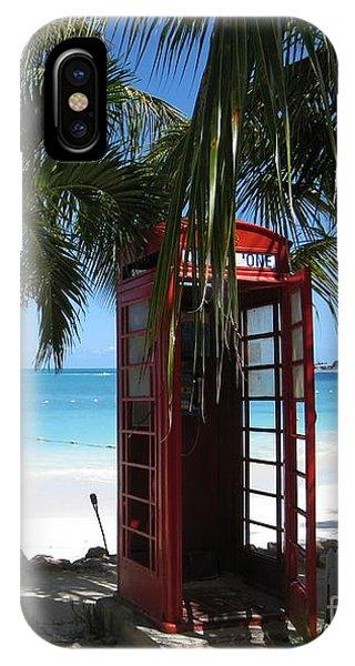 Antigua - Phone Booth IPhone Case