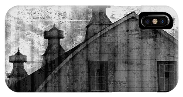 Antique Barn - Black And White IPhone Case