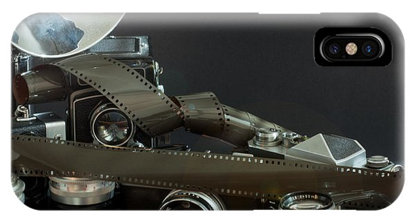 Antique Cameras IPhone Case