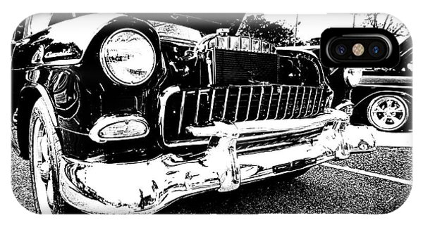 Antique Chevy Car At Car Show IPhone Case