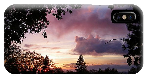 Antique Clouds IPhone Case