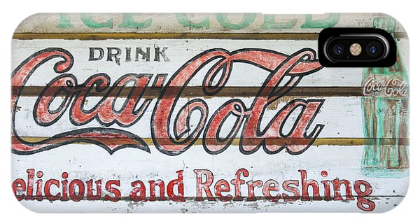 Antique Coca Cola Sign  IPhone Case
